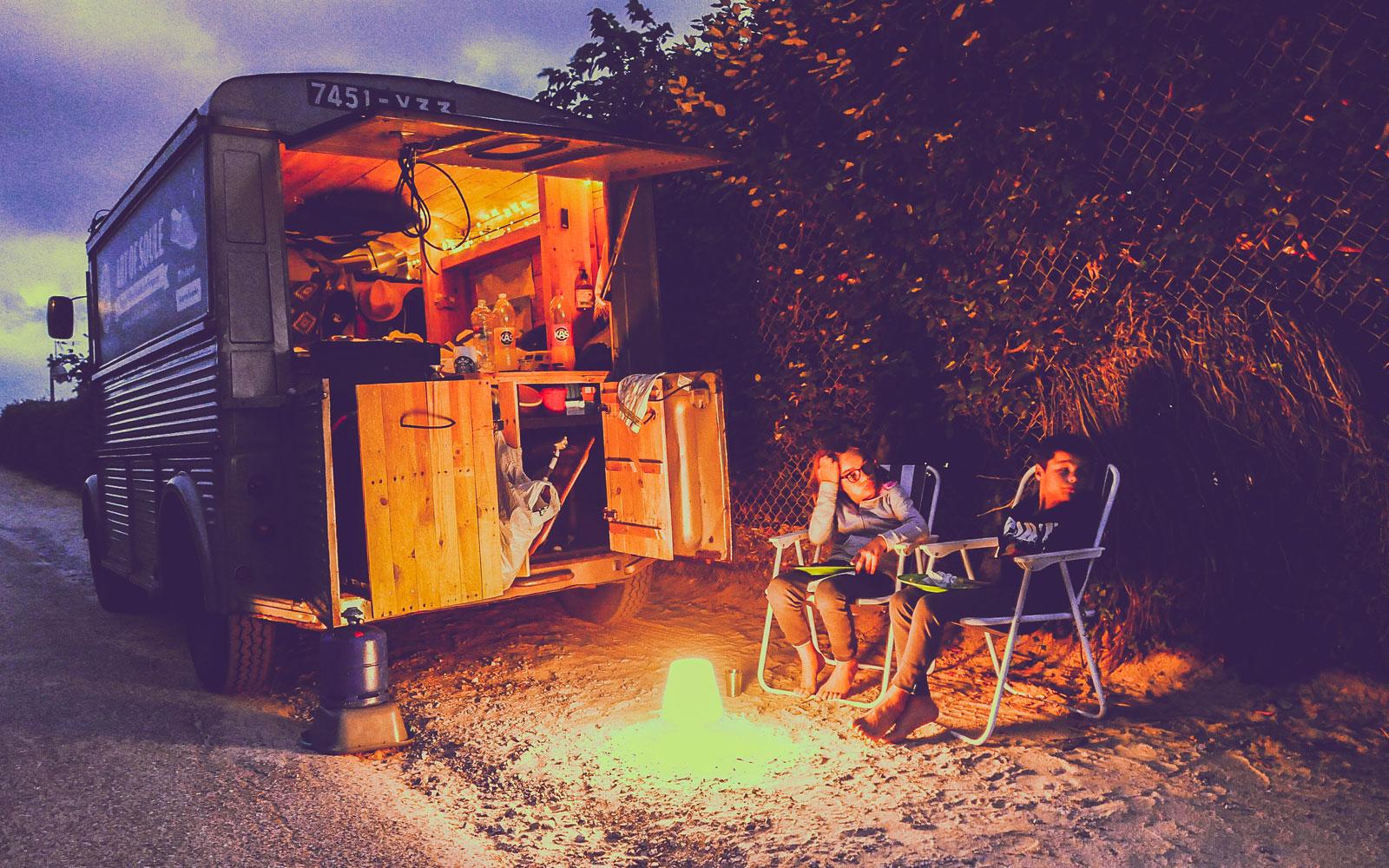 campervan lifestyle