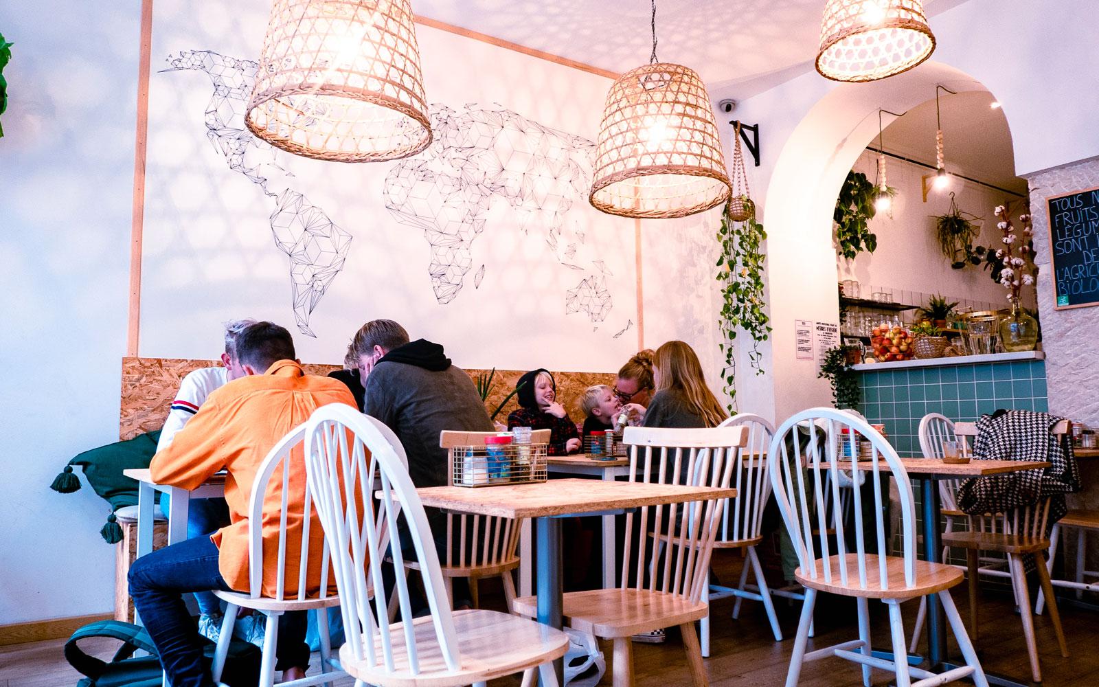 restaurant végétarien Nice centre ville
